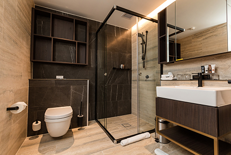 Bournemouth Delux Suite - Ensuite Bathroom