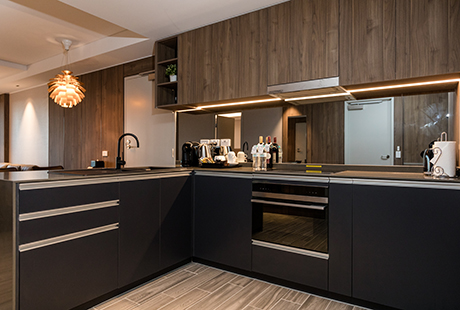 Bournemouth Delux Suite - Kitchen