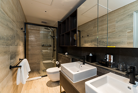 Lyndhurst Delux Suite - Ensuite Bathroom