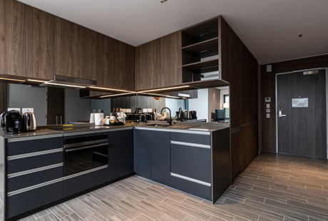 Lyndhurst Delux Suite - Kitchen